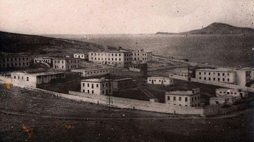 Campo de concentración de Gando.