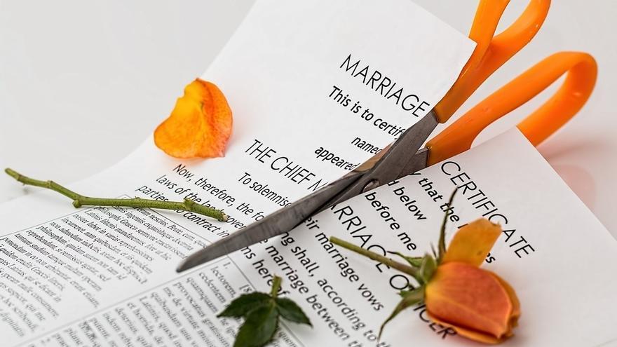 Euskadi registró 3.307 disoluciones matrimoniales en 2013, un 3,2% más, de las que 3.114 fueron divorcios directos