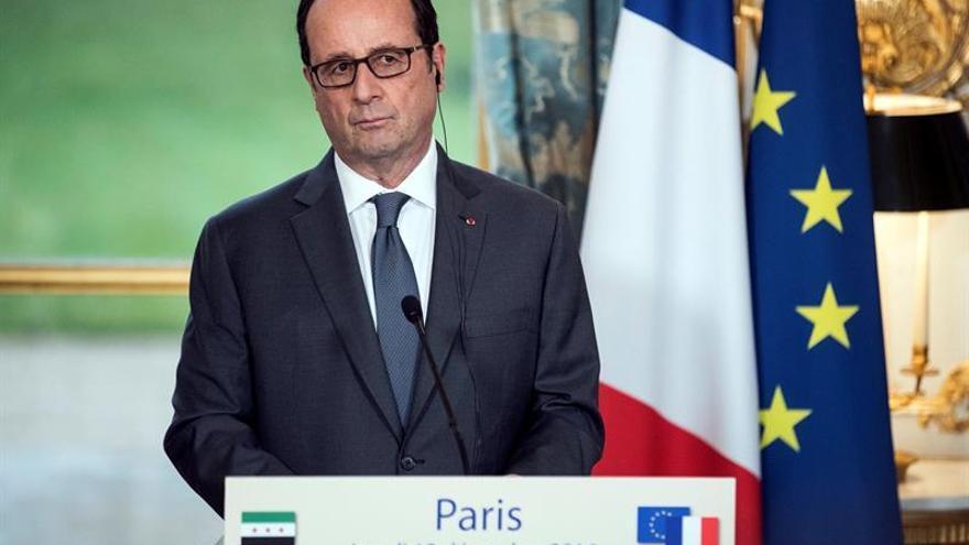 Hollande: No habrá impunidad con los bombardeos en Siria