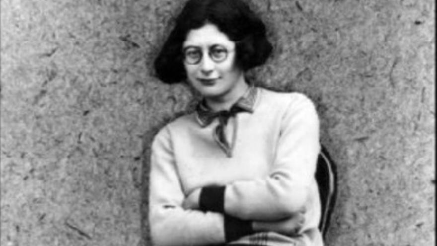La filósofa francesa Simone Weil
