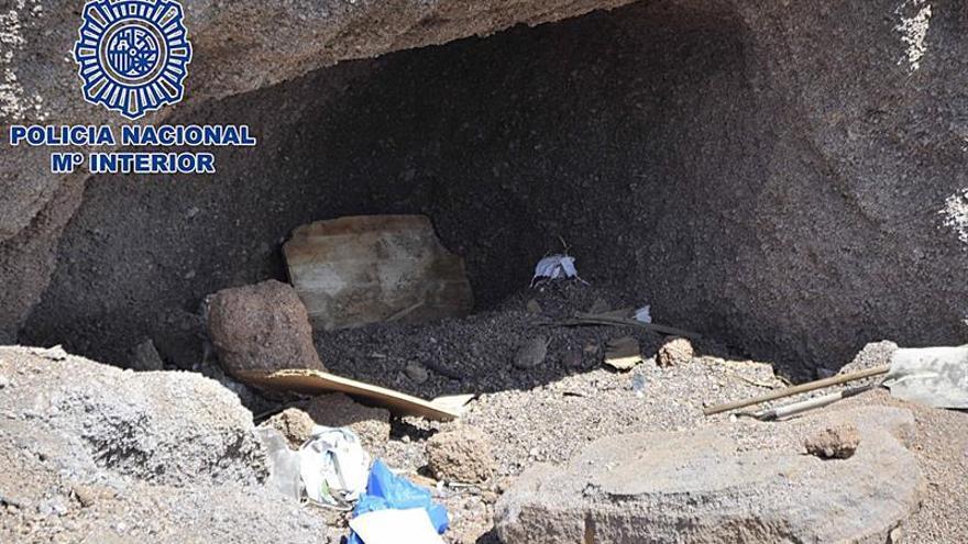 Cinco detenidos por el asesinato de un joven hallado en una cueva en Arrecife (Lanzarote)