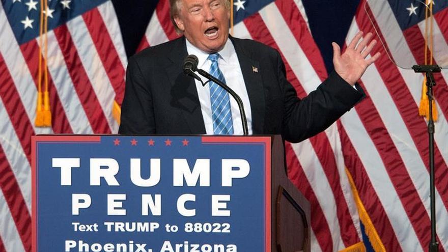 """Trump no piensa renunciar y dice que está teniendo un apoyo """"increíble"""""""