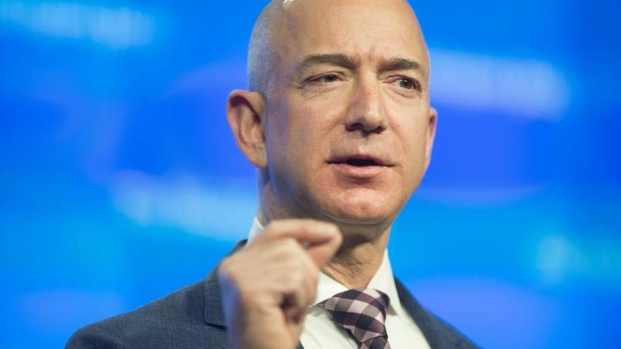 Jeff Bezos, consejero delegado de Amazon y dueño de The Washington Post