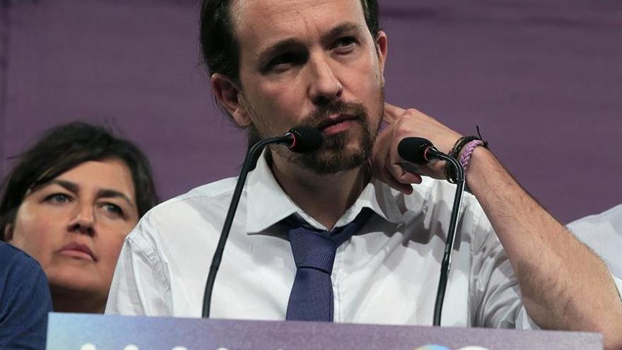 """Pablo Iglesias culpa al """"miedo a lo nuevo"""" de la caída de Podemos el 26J"""