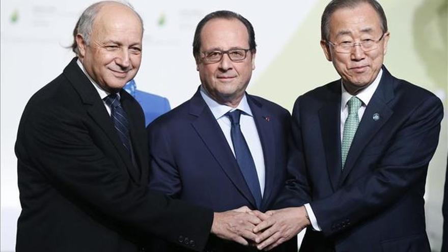 Cumbre sobre el cambio climático en París (EFE)