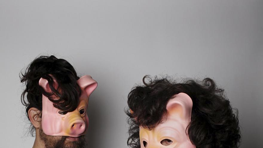 El dúo de 'pork-rock', Yobamochi
