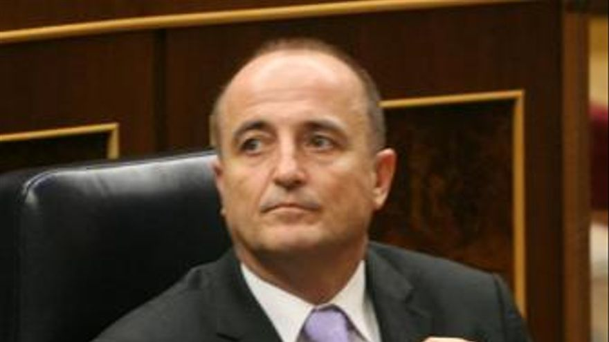 Miguel Sebastián, en la sesión del congreso