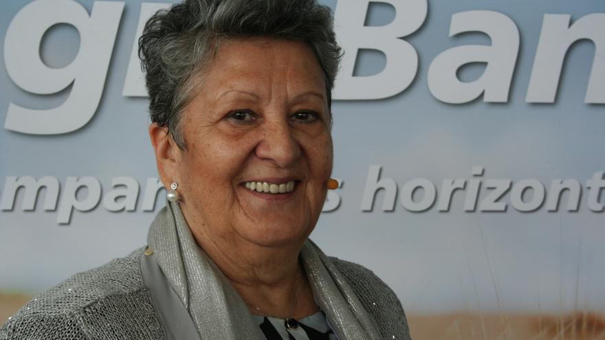 Araceli Olmedo, presidenta de la Comunidad de Usuarios de Aguas Subterráneas de la Masa Mancha Occidental II