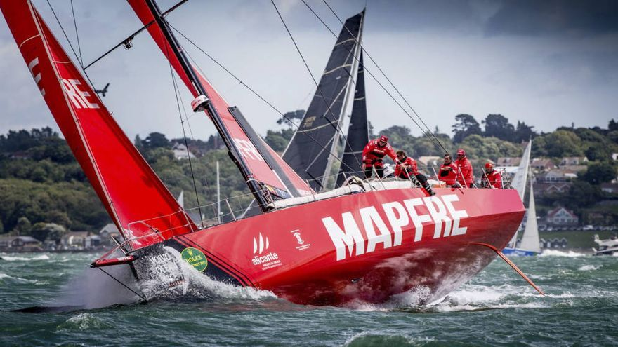 El Mapfre es el representante español en la Volvo Ocean Race