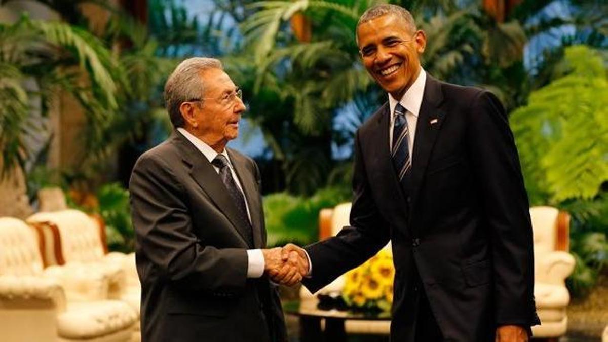 Barack Obama y Raúl Castro, en marzo de 2016, en la histórica visita del presidente demócrata a Cuba.