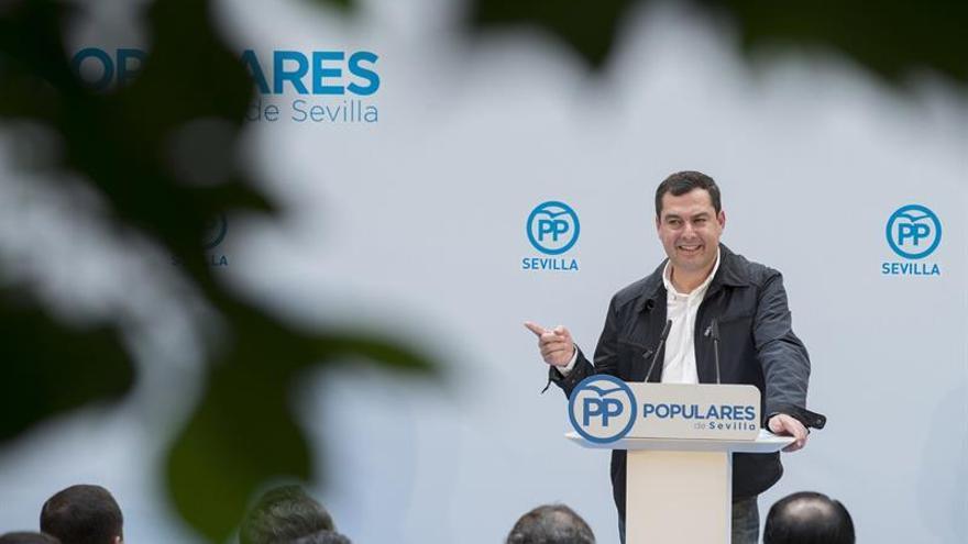 Juanma Moreno teme que carrera a Ferraz transforme en populista a Susana Díaz