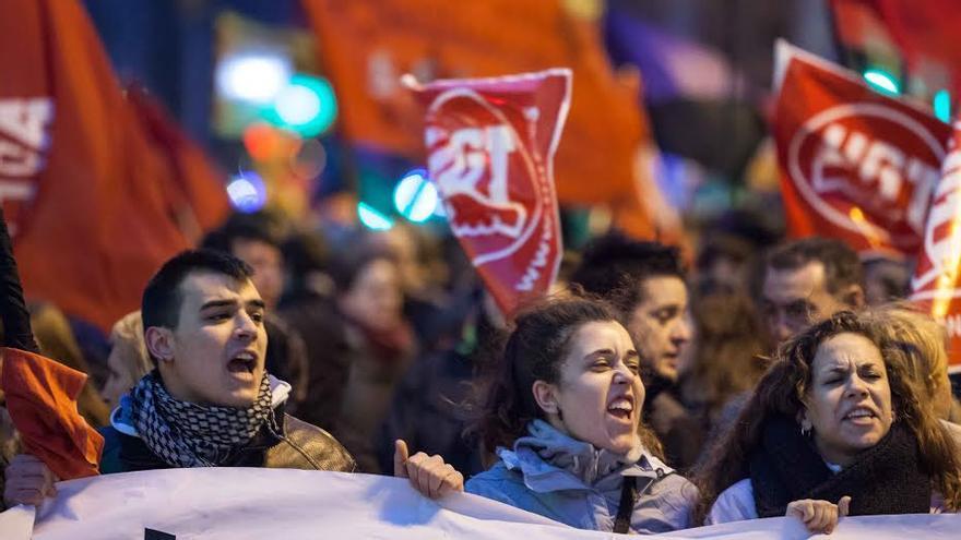 Las huelgas generales han sido ampliamente secundadas por el sector educativo. Foto: Juan Manzanara