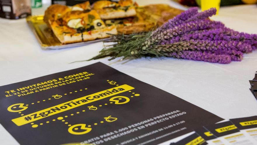 Feeding Zaragoza organiza #ZgzNoTiraComida
