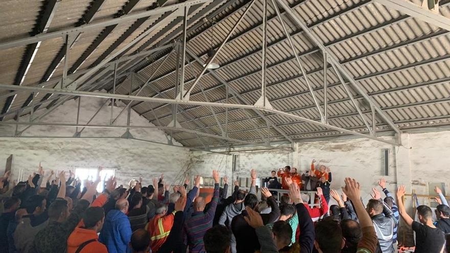 Plantilla de Sidenor hará paros y huelga para que contrato de compraventa de la planta de Reinosa garantice sus trabajos