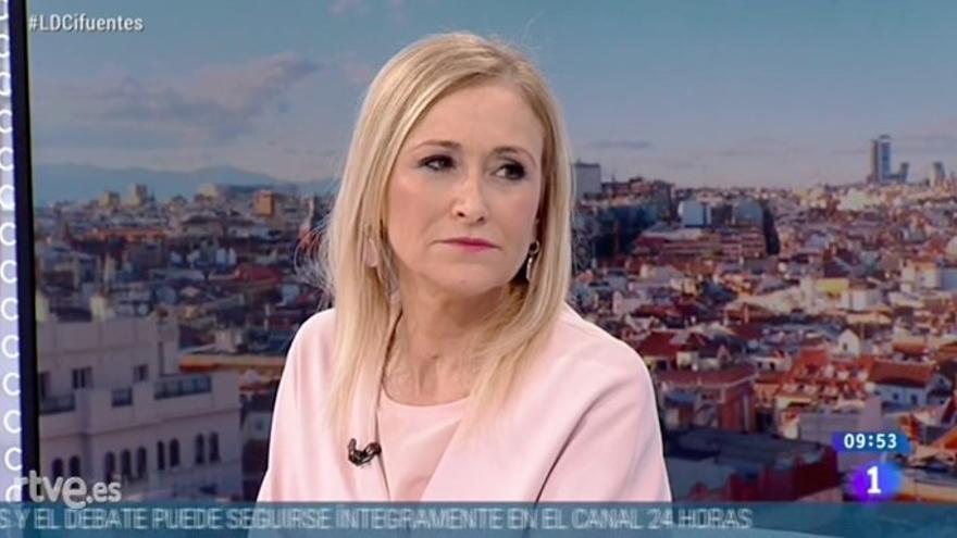"""Cifuentes niega que en Madrid exista 'dumping fiscal' y defiende que su política en la materia """"incentiva la economía"""""""