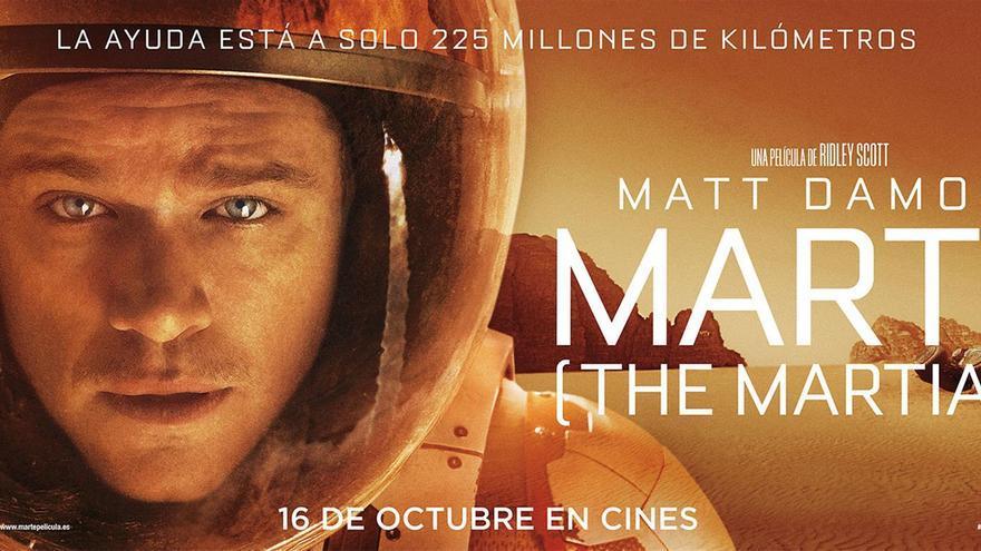 Cartel de la película Marte (The Martian) // THE MARTIAN © 2015 Fox