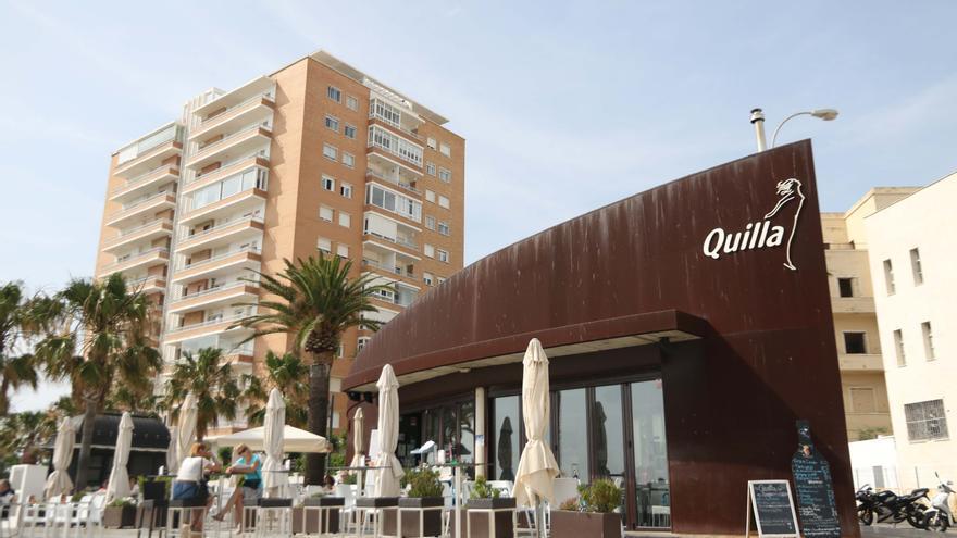 Fachada de Quilla, en Cádiz.
