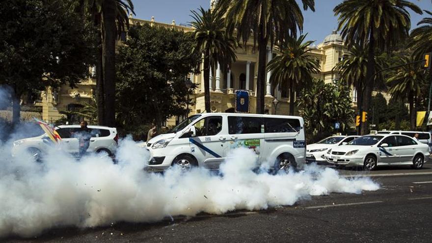 Cabify dice que 15 coches han sido dañados por actos vandálicos en Málaga