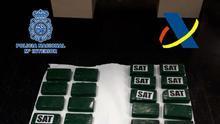 Intervenidos 33 kilos de cocaína en un contenedor de fruta en el puerto de Las Palmas