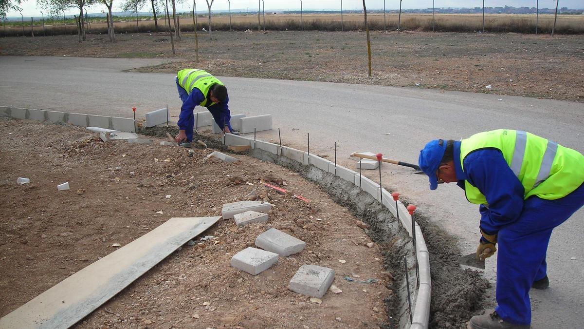Trabajadores en Albacete