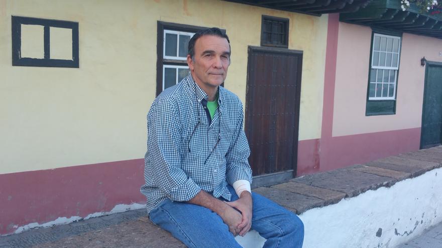 En la imagen, el biólogo Rafael García Becerra. Foto: LUZ RODRÍGUEZ.