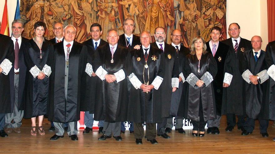 Los miembros del Consejo de la Abogacía de Castilla y León. Cracyl.