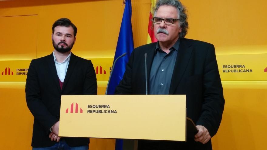 """Tardà (ERC) pide a JxSí y la CUP negociar """"sin prejuicios"""""""