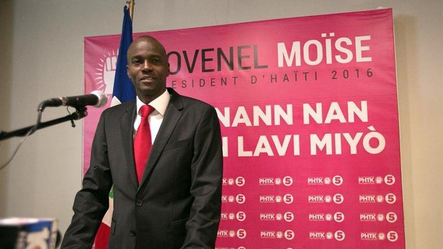 EL Consejo Electoral de Haití declara a Jovenel Moise ganador definitivo de las elecciones