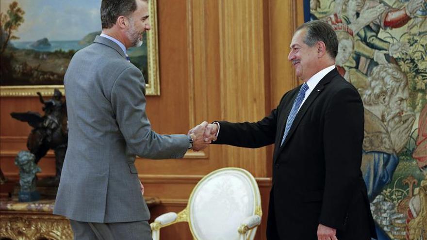 """El Rey se reúne con el presidente del """"gigante"""" químico Dow Chemical"""