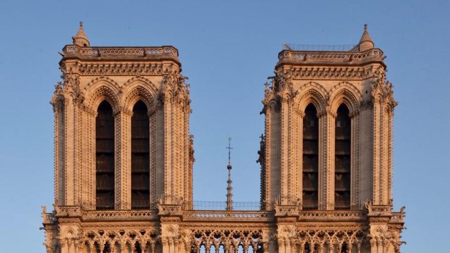Fachada norte de Notre-Dame. Foto: web oficial de la catedral notredameparis.fr