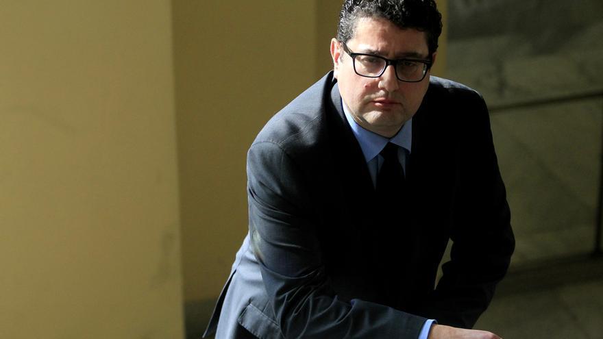 Carles Miñana, director de la Unidad de Inteligencia Financiera de Andorra. / Marta Jara