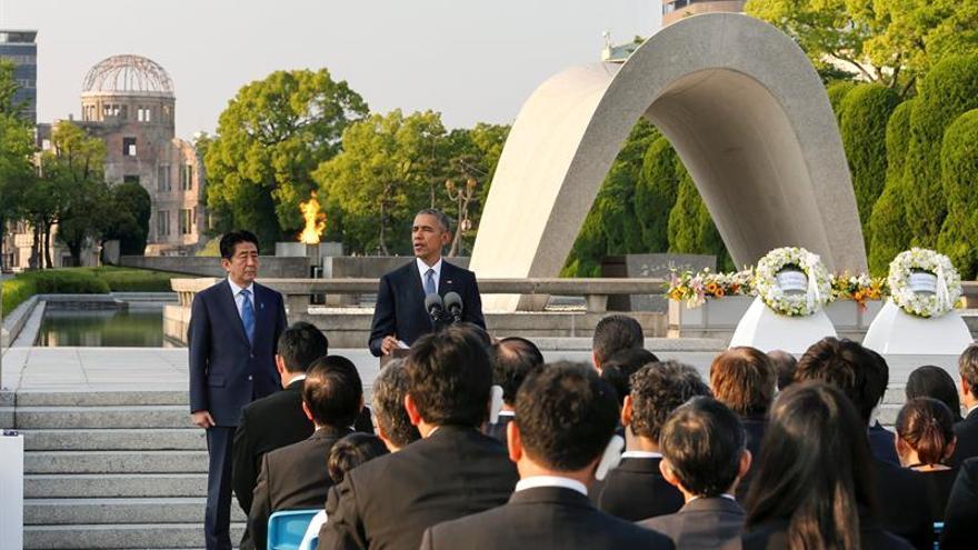 Aumentan un 40 % las visitas del museo de Hiroshima tras el viaje de Obama