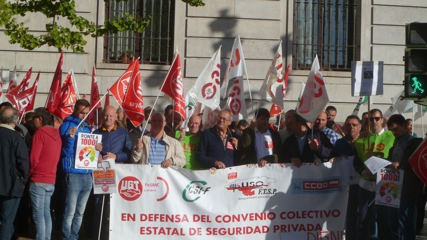 """Los sindicatos prevén huelga general en la seguridad privada si no hay """"subidas salariales razonables"""""""