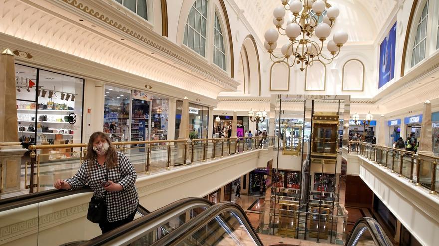 Aspecto del centro comercial Gran Via 2 de Barcelona.
