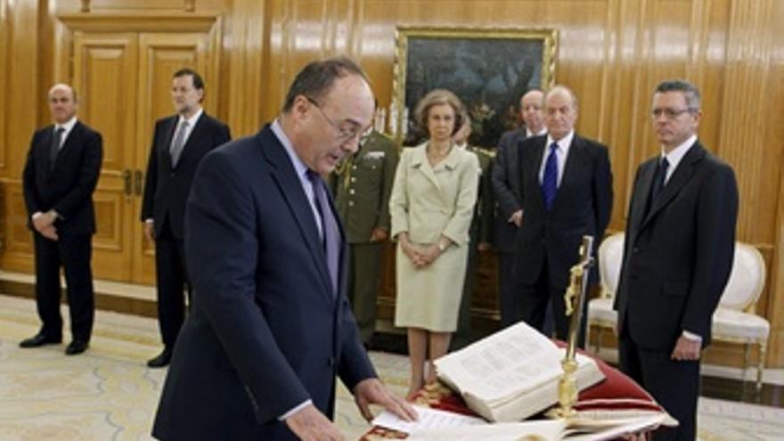 Luis María Linde Toma Posesión Como Gobernador Del Banco De España