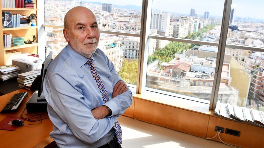 Màrius Carol, en su despacho de la sede del Grupo Godó.