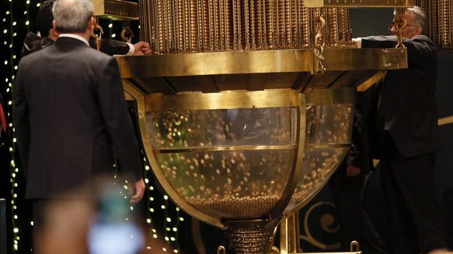 El número 07.617, primero de los cuartos premios del sorteo de Navidad