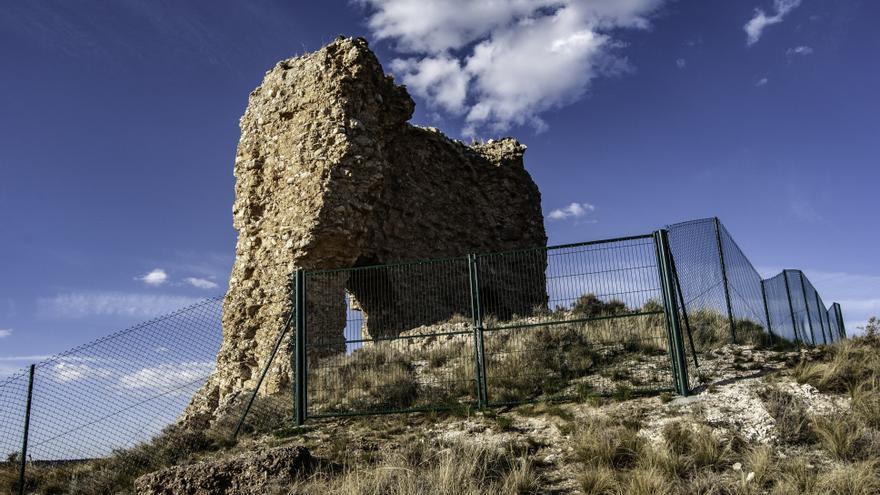 El castillo de Cutanda fue levantado por los musulmanes sobre un antiguo asentamiento de la época celtibérica