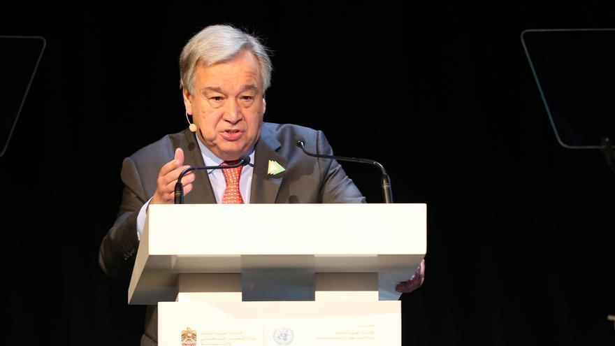 """Guterres: Centroamérica debe ser """"prioridad absoluta"""" ante el cambio climático"""