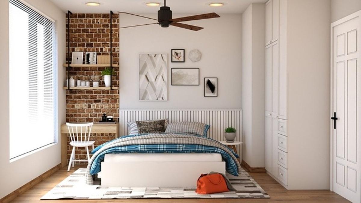 Habitación con colchón