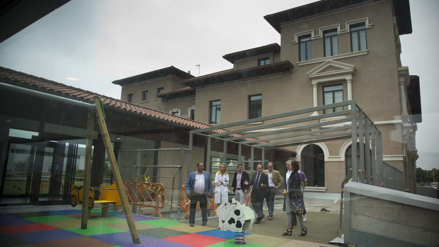 Parque infantil de Valdecilla.
