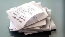 Bisfenol A en el papel de los recibos de la compra: ¿motivos para preocuparse?