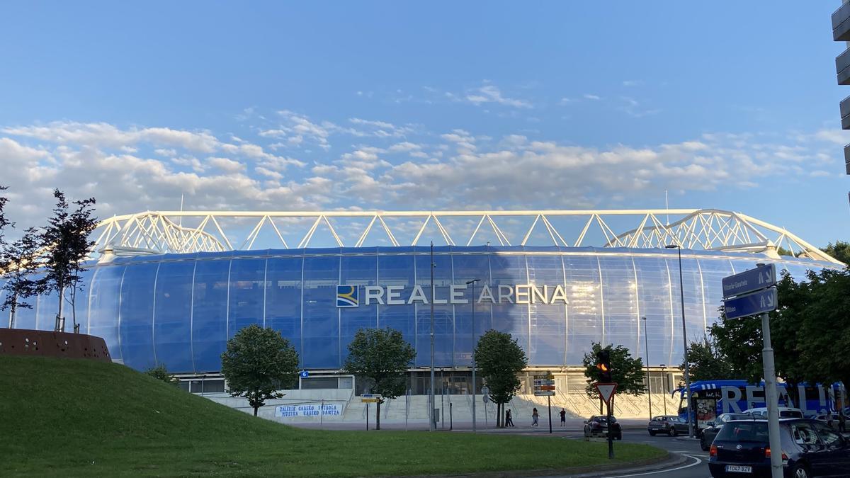 Estadio de Anoetam ahora Reale Arena