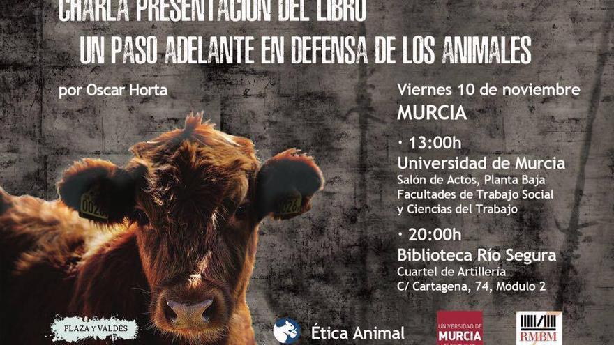 Charla presentación de Oscar Horta en Murcia