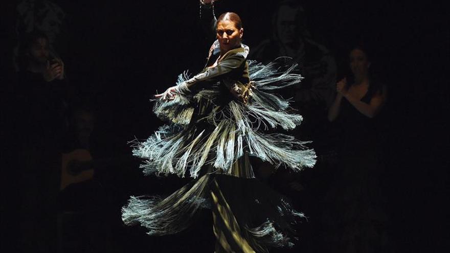 Sara Baras pone el broche final al programa musical Alcobendas Flamenca