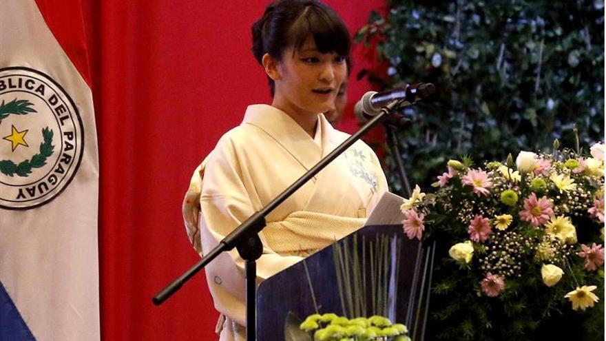 La nieta de Akihito retrasa su anuncio de compromiso por las inundaciones en Japón