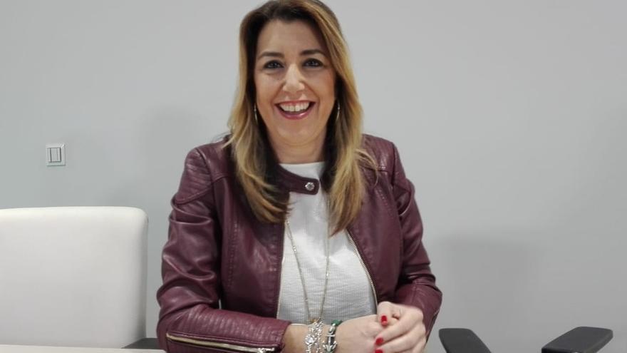 """Susana Díaz insiste en que su encuesta es """"la del 2 de diciembre"""""""