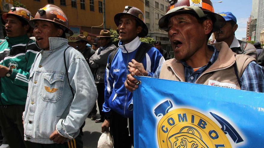 El Gobierno boliviano anuncia avances en el diálogo para resolver el conflicto minero