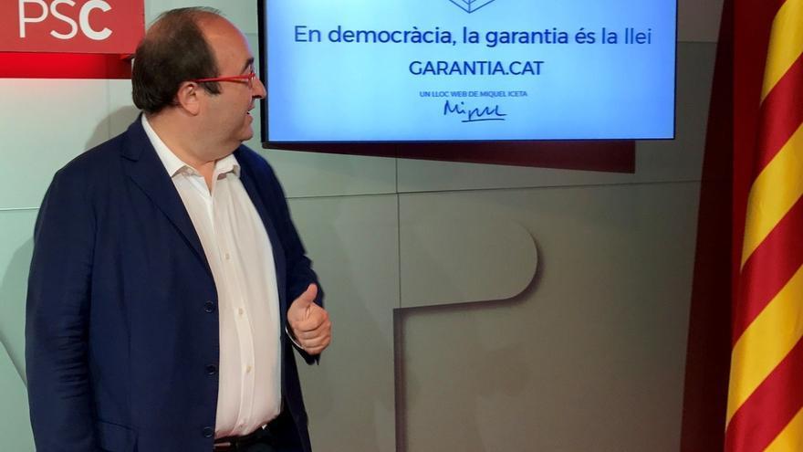 """Iceta asegura que """"ni la ONU ni La Haya ni el Gran Manitú"""" reconocerán el referéndum"""