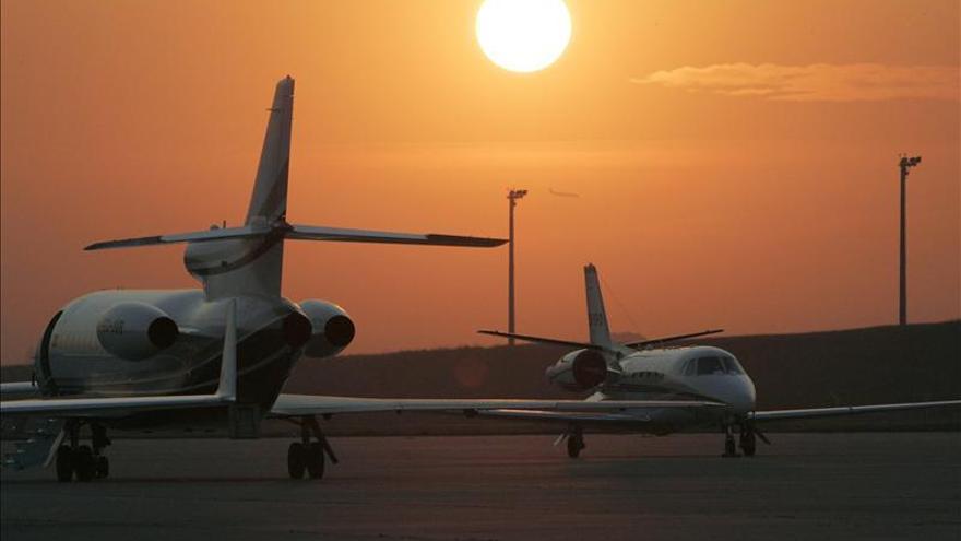 Aterriza en la base de Torrejón (Madrid) el avión con la cooperante española
